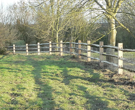 Vurley Fencing Post And Rail Fencing Post And Rail